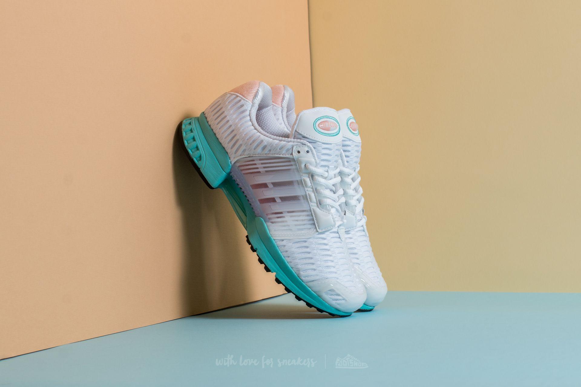 23018c9a438d03 adidas Climacool 1 W Footwear White  Footwear White  Easy Mint ...