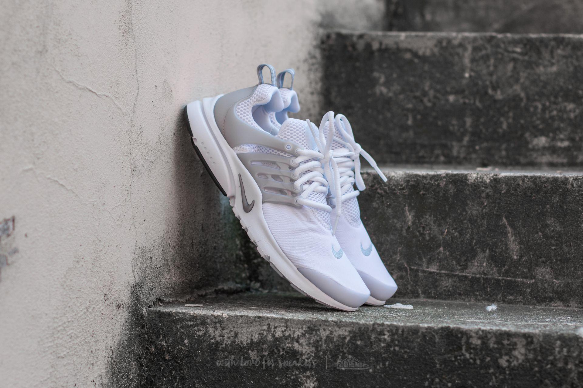 3825bb880a83 Nike Presto (GS) White  Metallic Silver-White
