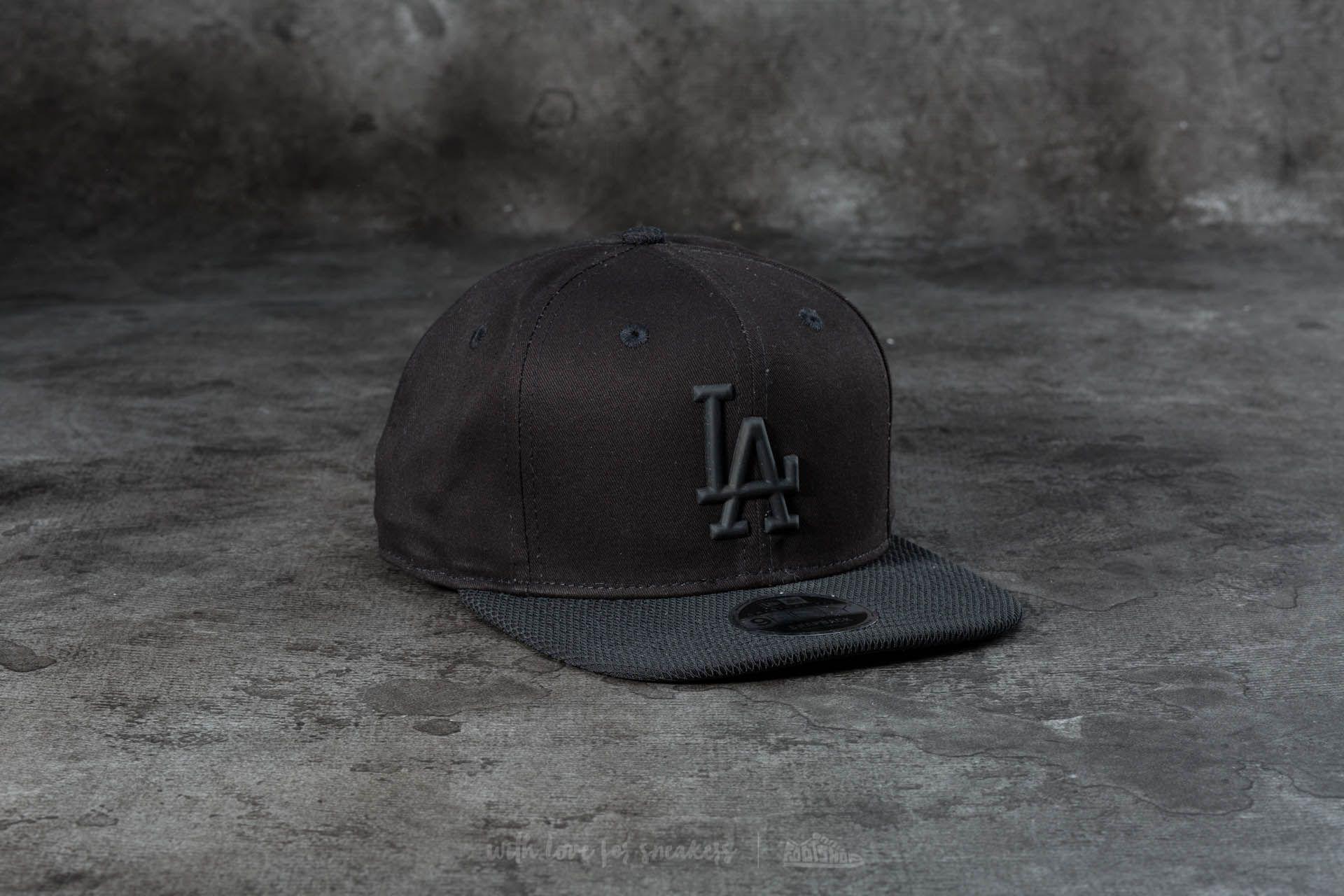 New Era 9Fifty Rubber Prime Los Angeles Dodgers Cap Black   Footshop f63002c33b