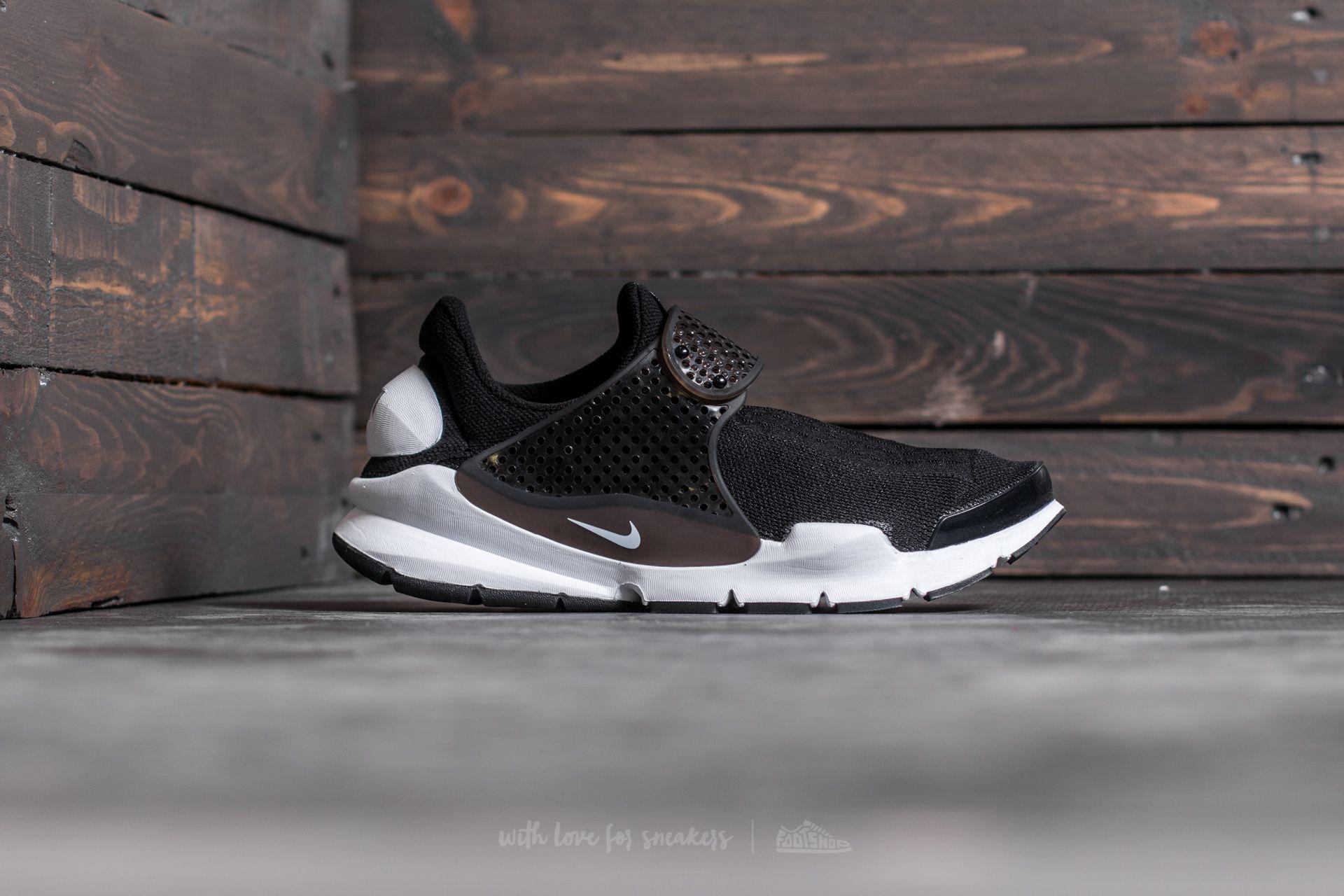 reputable site 0f374 a3add Nike Sock Dart KJCRD Black/ White | Footshop