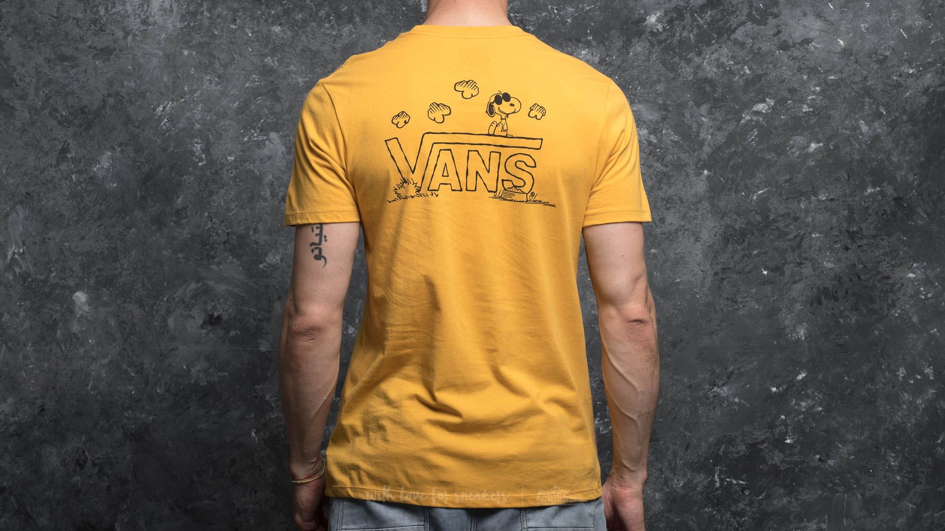 346736f942 Vans x Peanuts Classic Snoopy Tee Mineral Yellow | Footshop