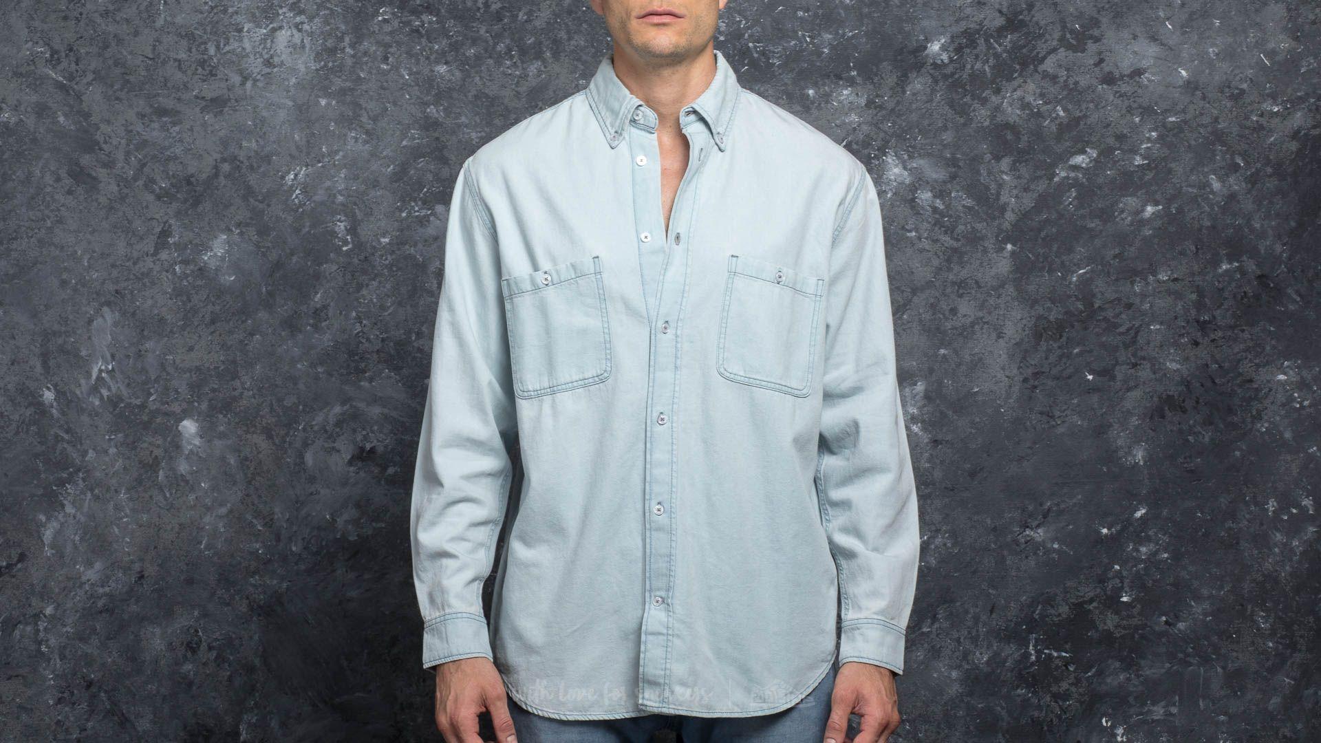 Cheap Monday Conduct Shirt Pale Blue za skvělou cenu 710 Kč koupíte na Footshop.cz