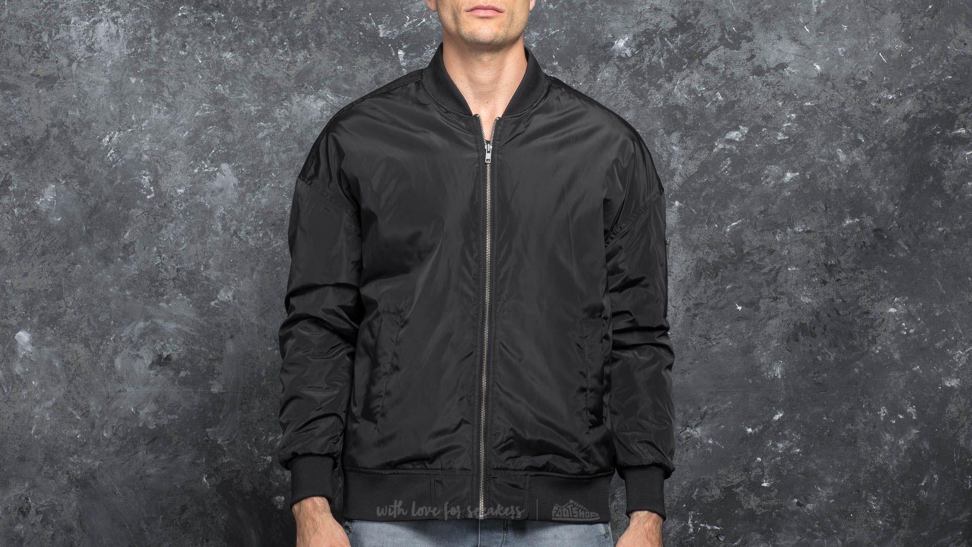 Urban Classics Oversized Bomber Jacket Black za skvělou cenu 830 Kč koupíte na Footshop.cz