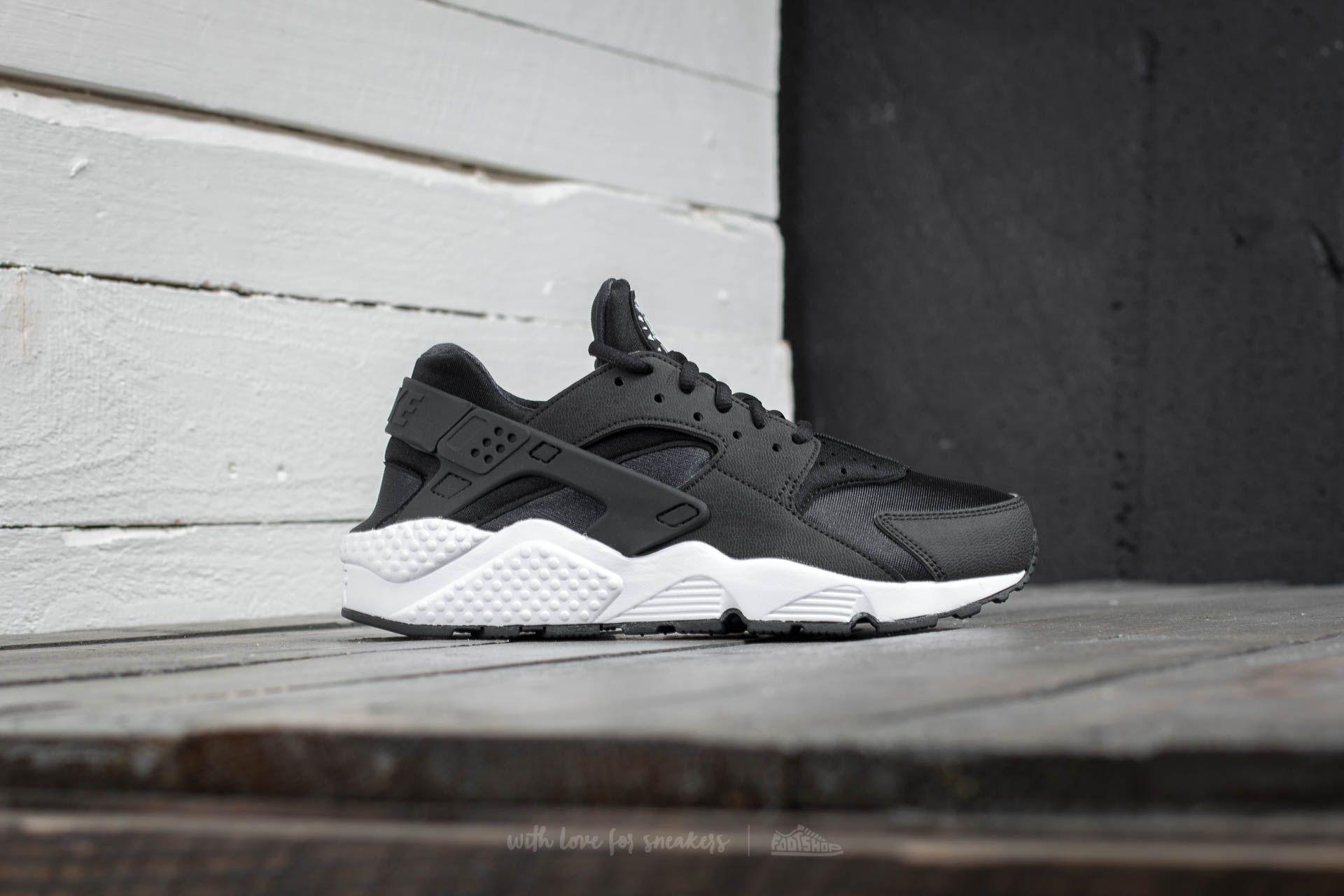 46ec38f2c6 Nike Air Huarache Run Black/ Black/ White | Footshop
