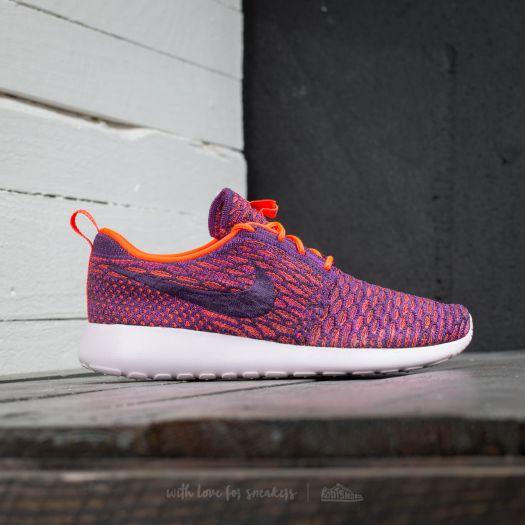 on sale 9486d 28fd5 Nike Wmns Roshe One Flyknit Total Crimson/ Grnd Purple ...