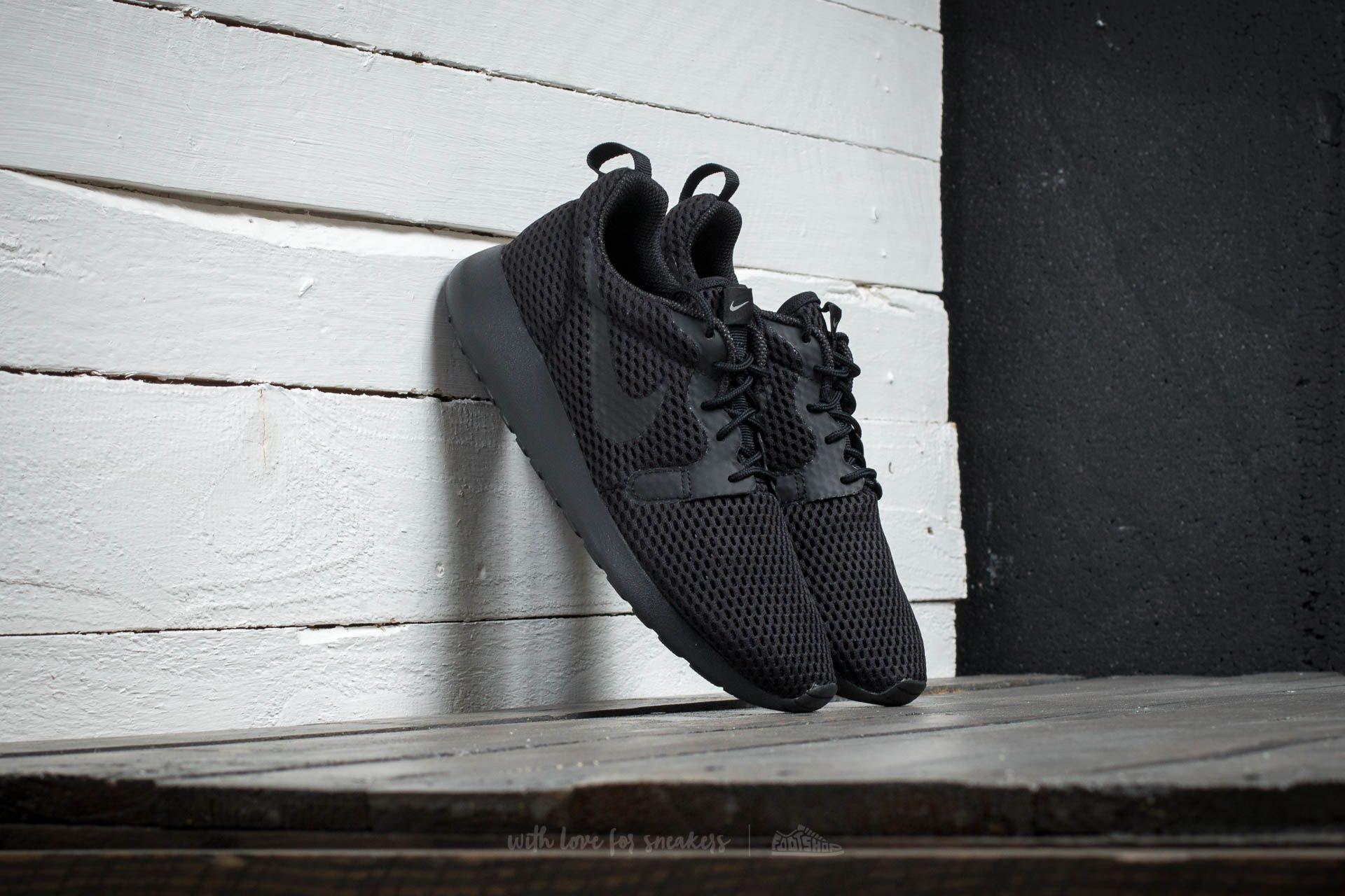 46638976f80b Nike W Roshe One Hyp BR Black  Black - Cool Grey