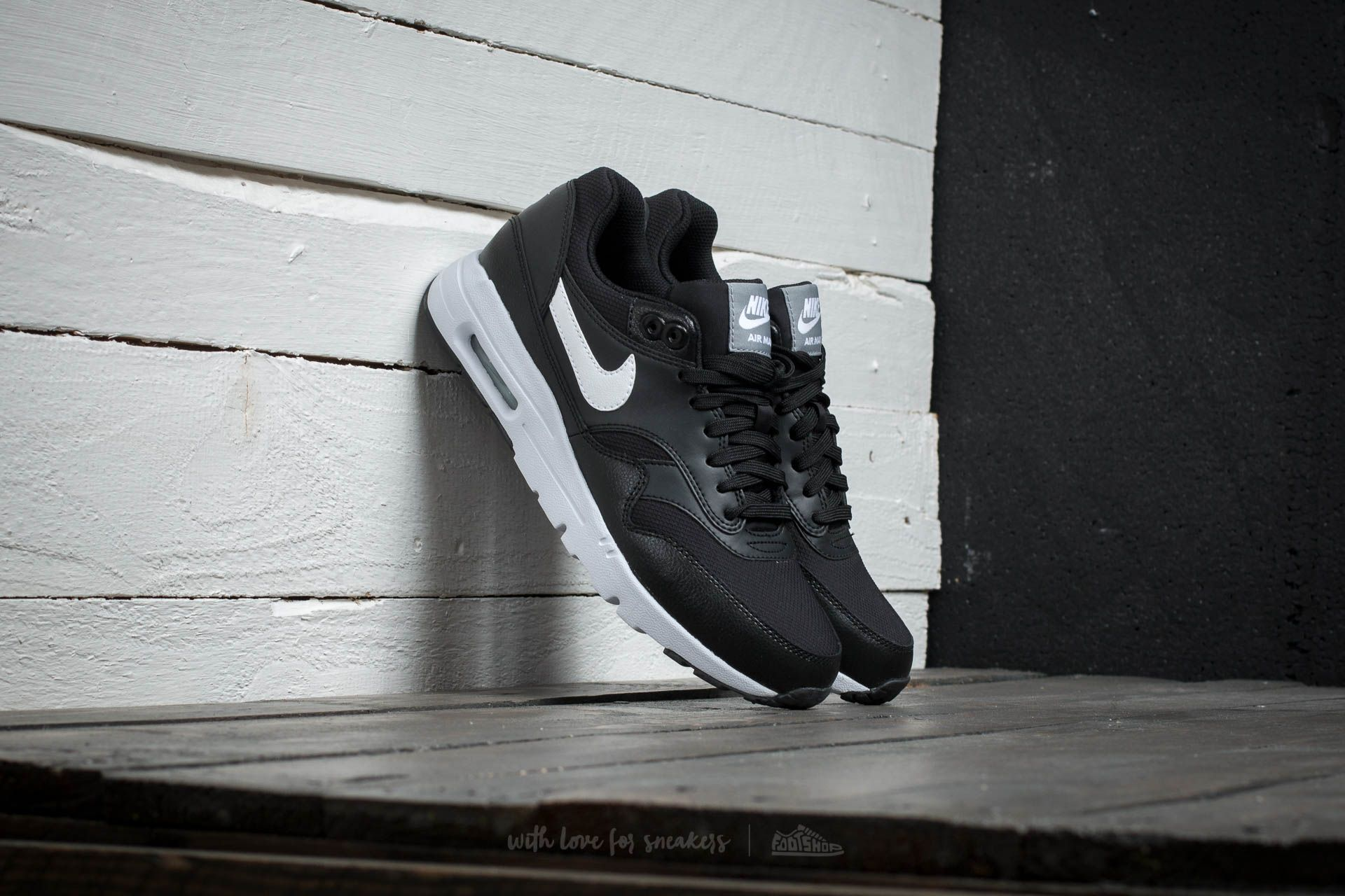new arrival 1a48d e14c7 Nike W Air Max 1 Ultra Essentials. Black White- ...