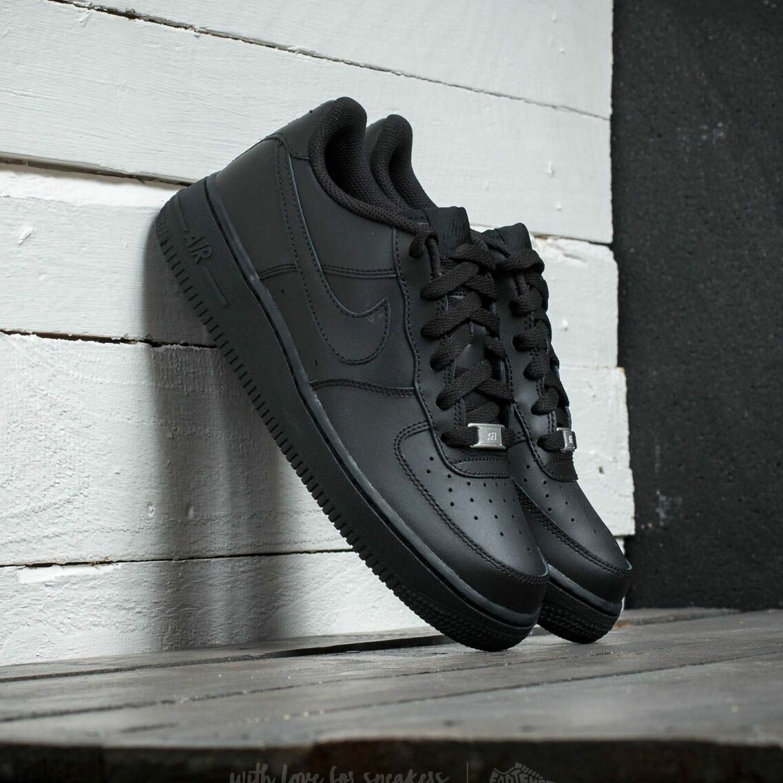 Nike Air Force 1 (GS) Black/ Black-Black EUR 38.5