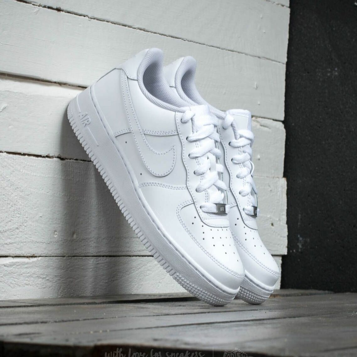 Nike Air Force 1 (GS) White/ White-White EUR 38.5