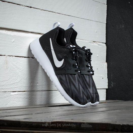 Nike Roshe One Flight Weight (GS) Black White   Footshop