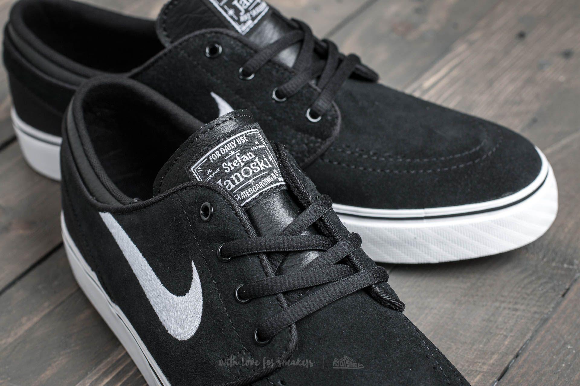 amazonka szalona cena klasyczny styl Nike Stefan Janoski (GS) Black/ White-Gum Med Brown | Footshop