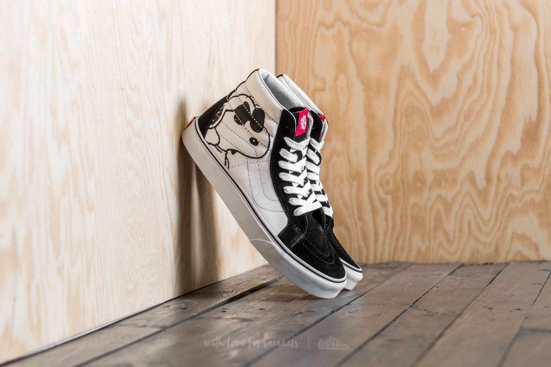 795202a6b9 Vans x Peanuts Sk8-Hi Reissue Joe Cool  Black