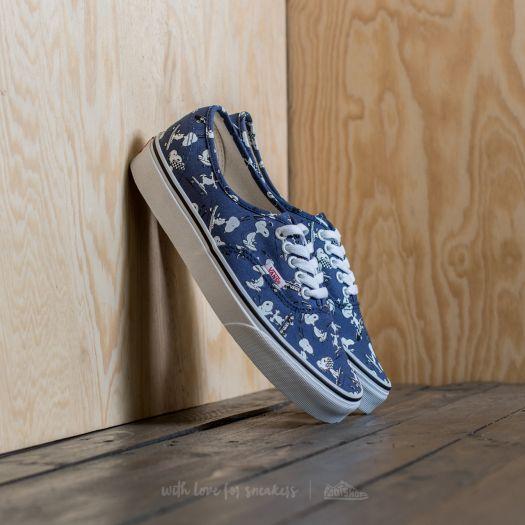 Vans x Peanuts Authentic   Bleu   Chaussures de skate