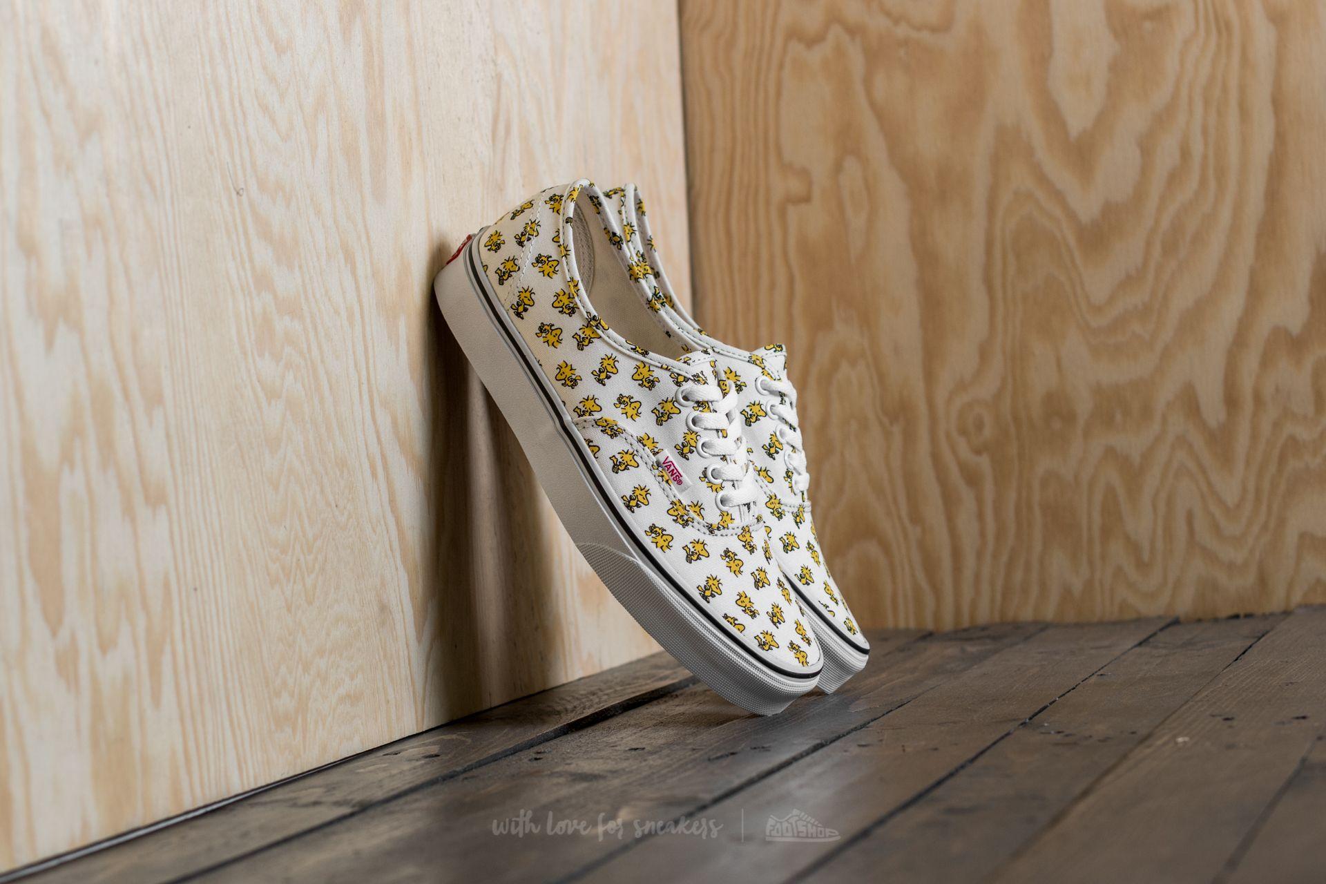 Vans x Peanuts Authentic Woodstock/ Bone   Footshop