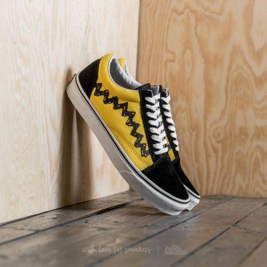 Vans x Peanuts Old Skool Charlie Brown Black | Footshop