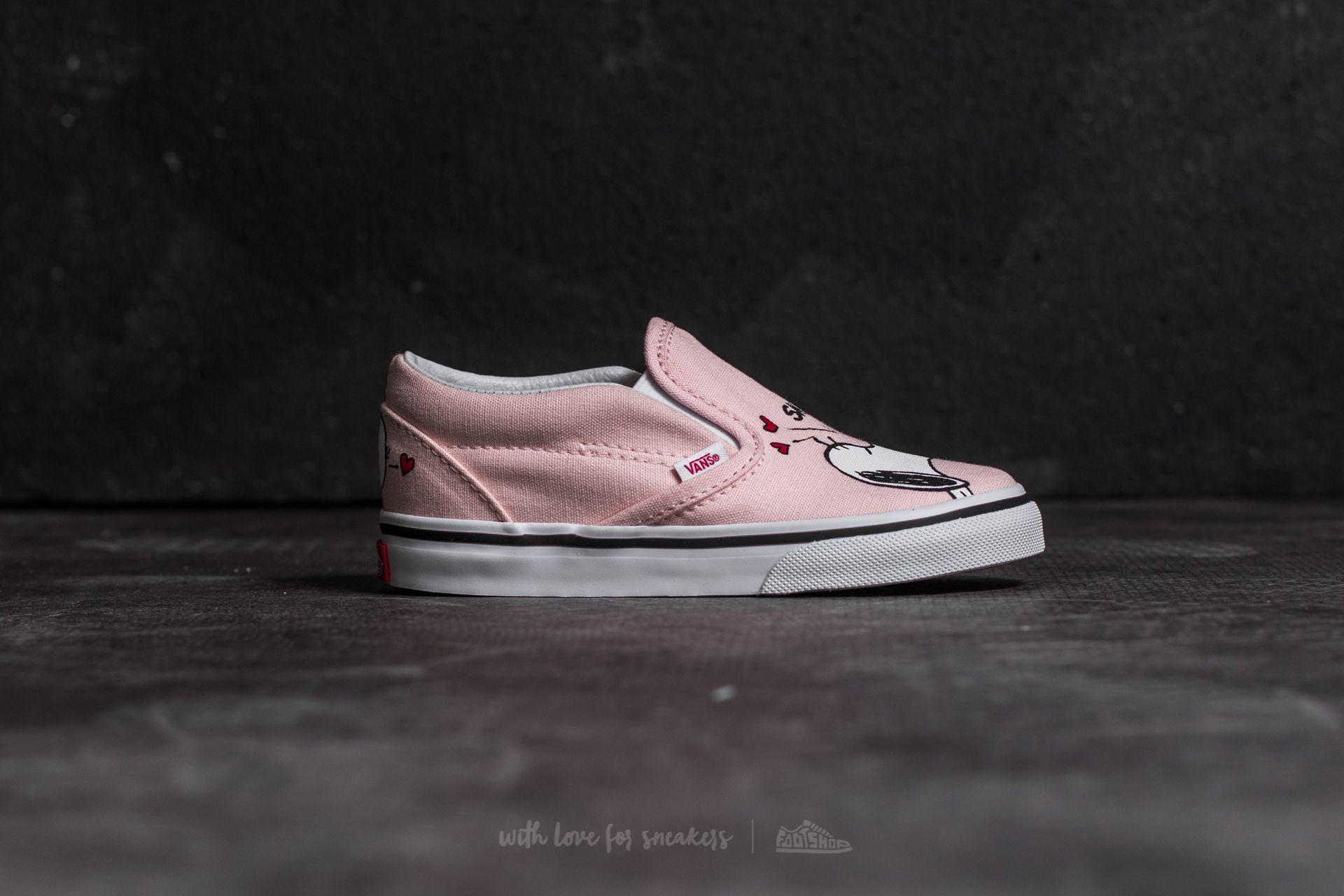 Vans x Peanuts Classic Slip On Smack Pearl   Footshop