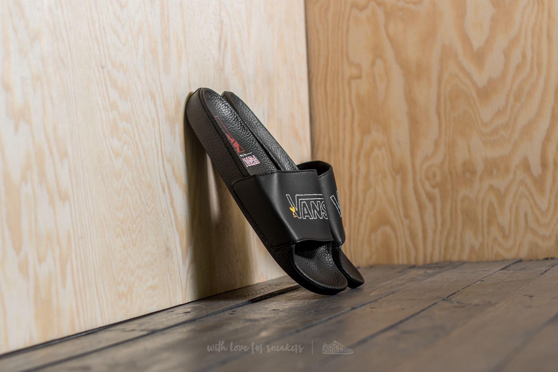Vans x Peanuts Slide-On Black  2292feff9