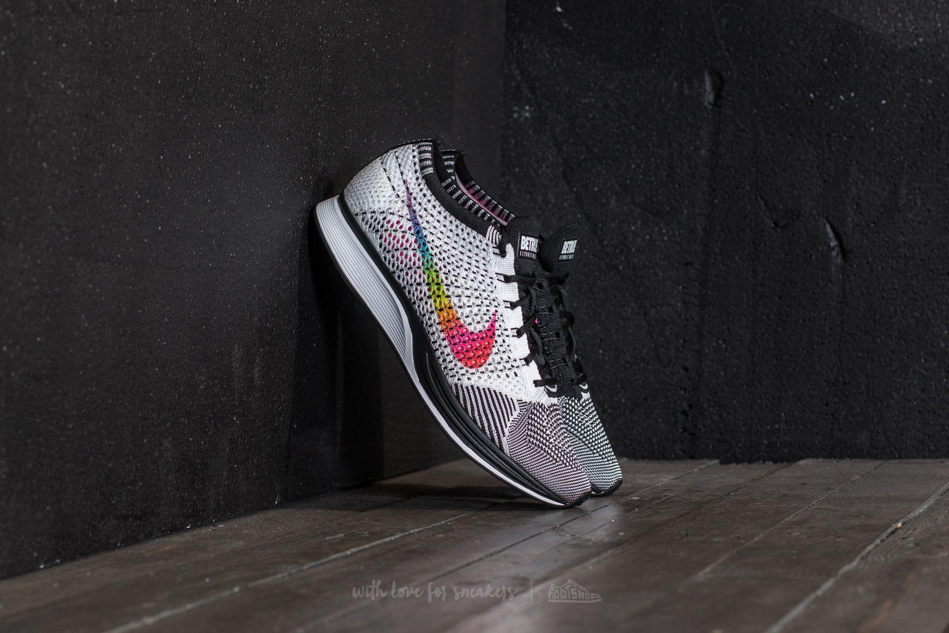 Nike Flyknit Racer Betrue White/ Multi-Color-Black   Footshop