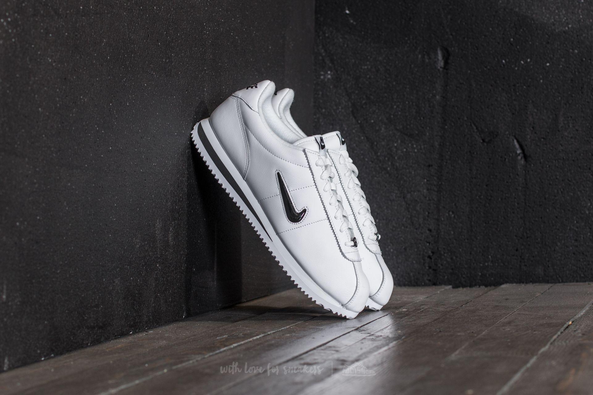 size 40 939bd 77846 Nike Cortez Basic Jewel QS TZ White/ Black   Footshop
