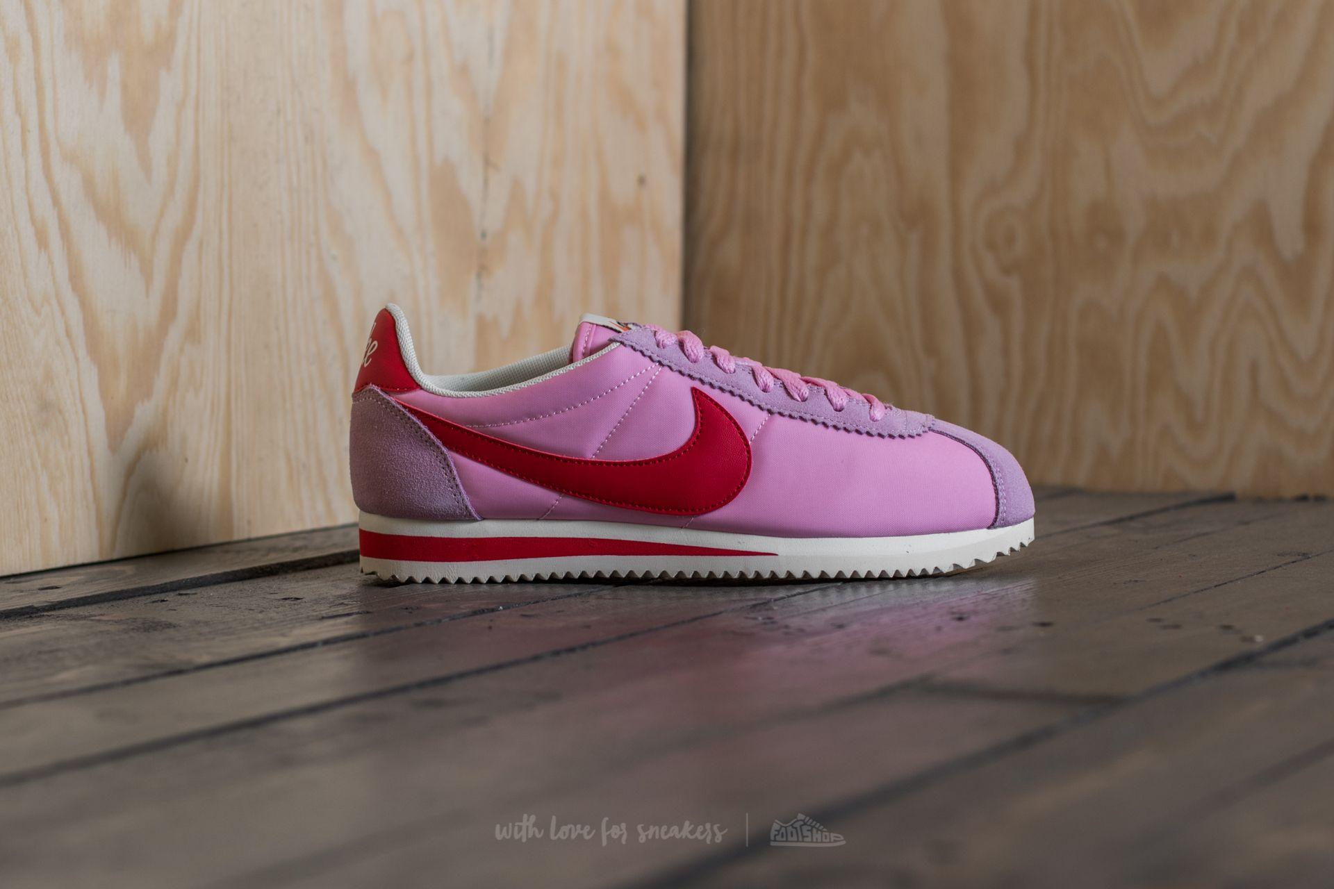 huge selection of 059c0 b0705 Nike Wmns Classic Cortez Nylon Premium Perfect Pink/ Sport ...