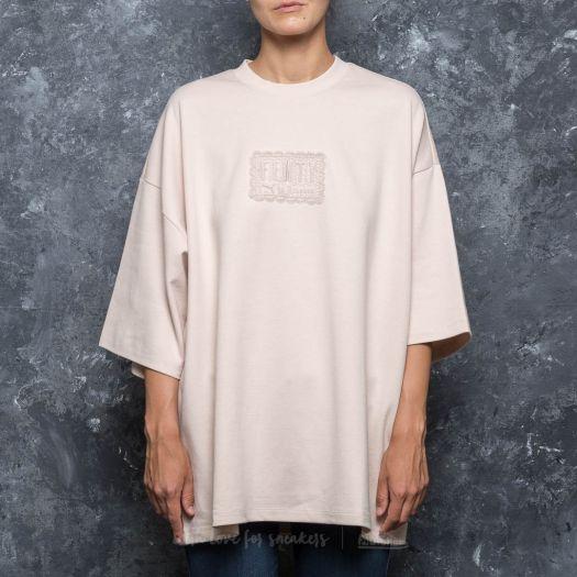 buy online ac90d 7d515 Puma Fenty x Rihanna Oversized Crew Neck T-Shirt Pink Tint ...