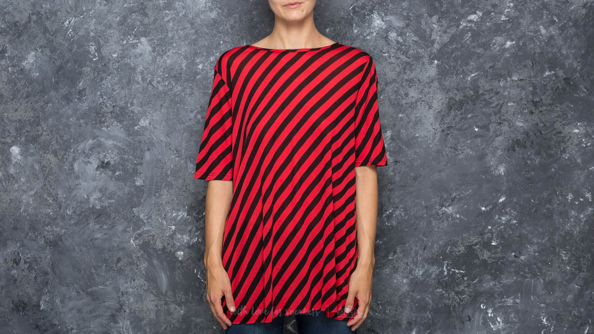 Cheap Monday Avant Slash Stripe Top