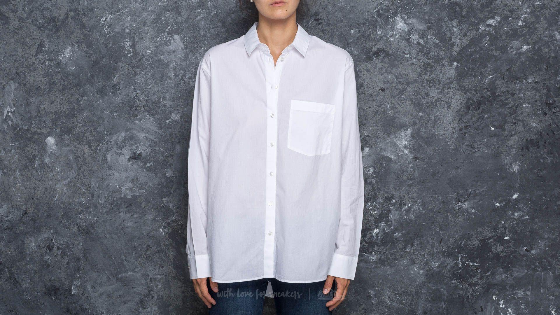 Cheap Monday Direct Poplin Shirt White