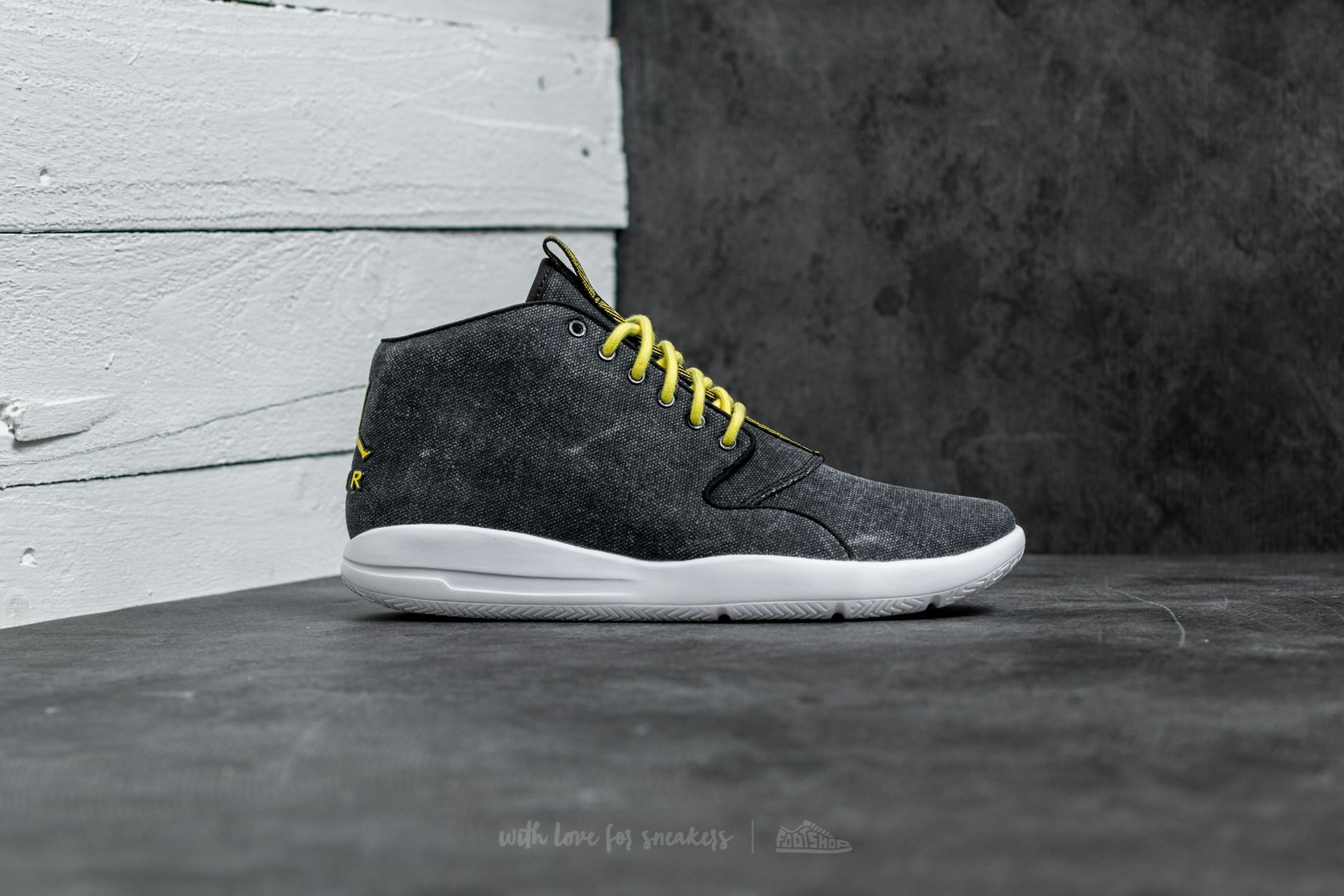 Jordan Eclipse Chukka Black Opti Yellow White | Footshop