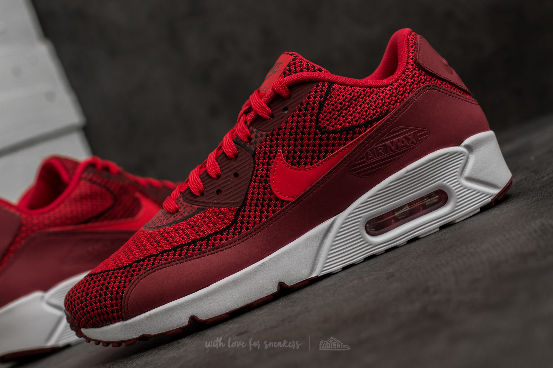Nike Air Max 90 Ultra 2.0 JCRD BR University Red University
