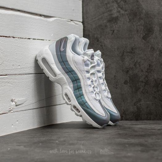 size 40 cb4ba d6a23 Nike Air Max 95 Premium Glacier Blue/ Palest Purple | Footshop