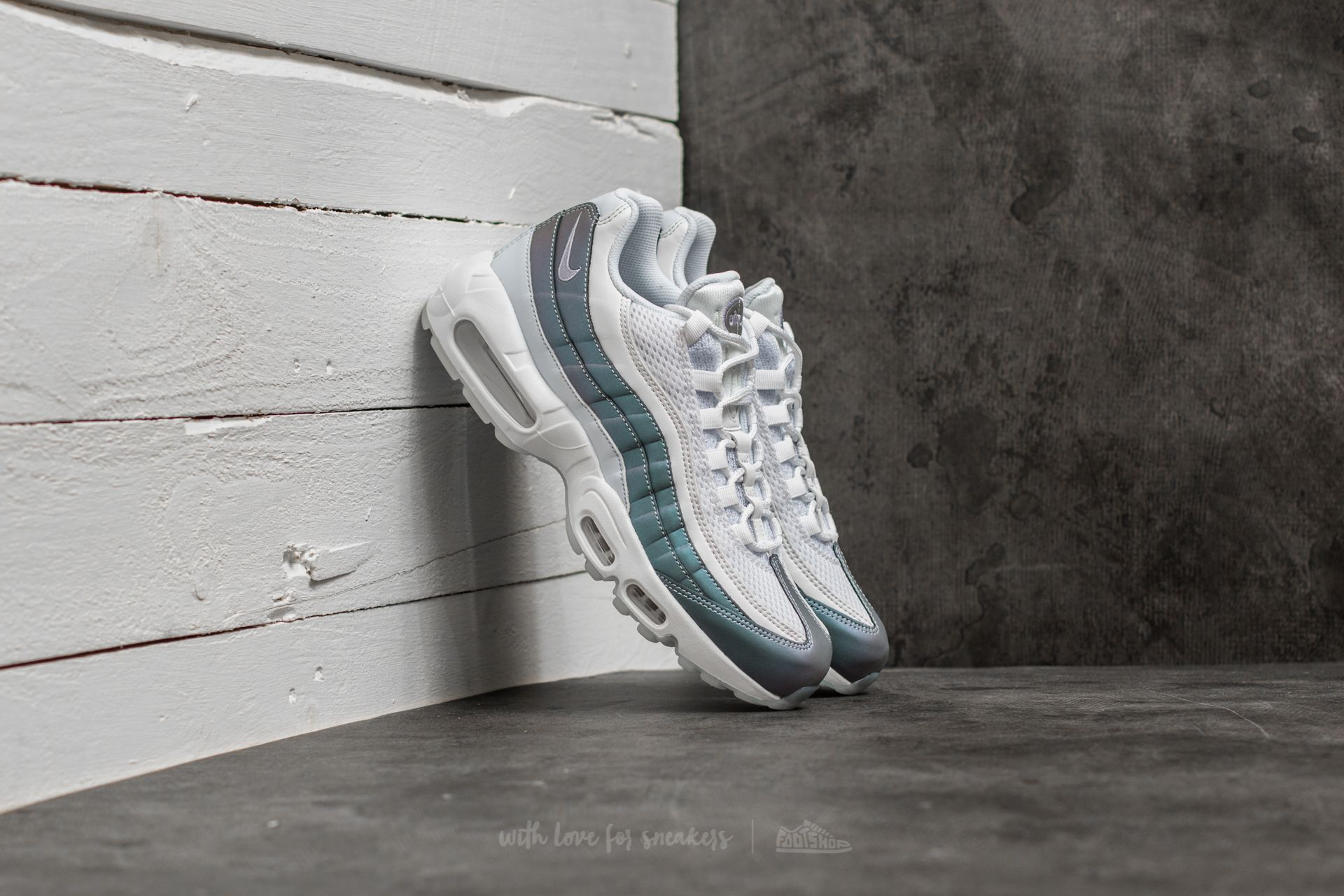huge discount fcf01 28fc0 Nike Air Max 95 Premium. Glacier Blue  Palest Purple