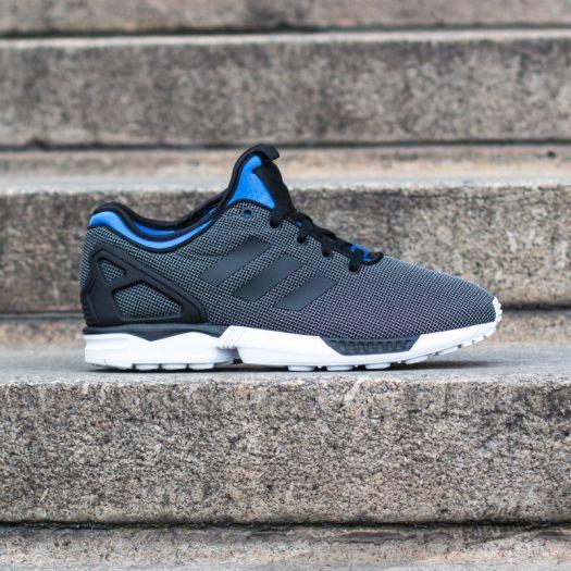 official photos 39e27 53aa7 adidas ZX Flux NPS Black/Black/Polar Blue   Footshop