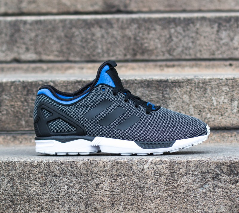 8931b2c0ea0d9 adidas ZX Flux NPS Black/Black/Polar Blue | Footshop