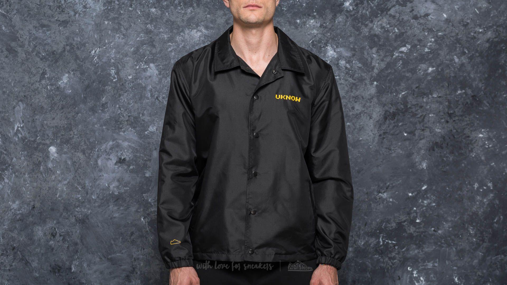 Footshop x UKNOW x M.L Coach Jacket Black
