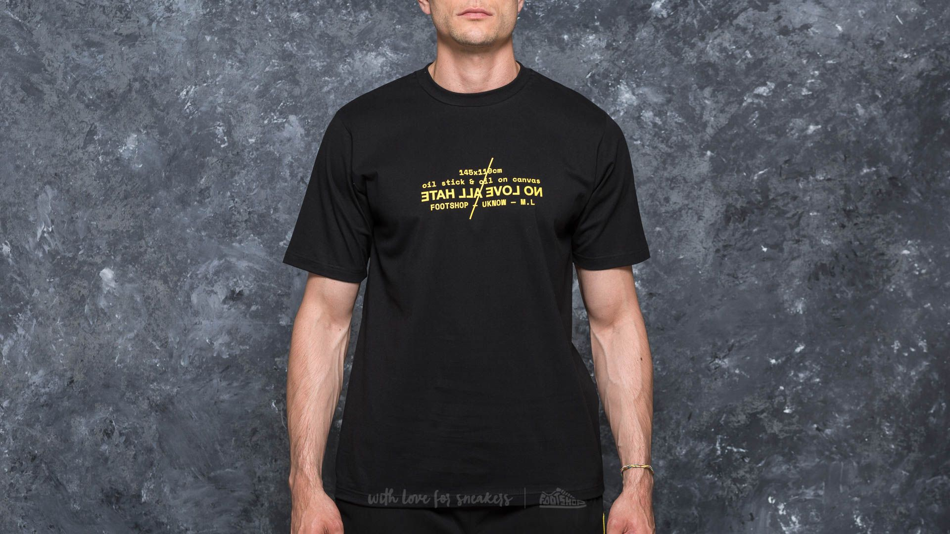 Footshop x UKNOW x M.L T-Shirt Black
