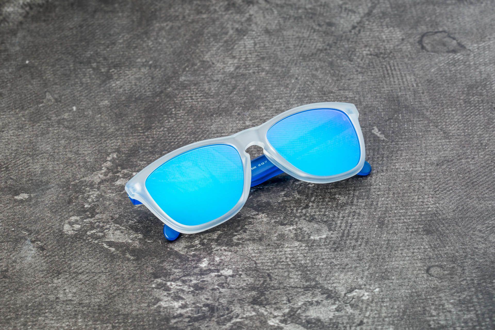 58bdad929d2 Oakley Frogskins. Matte Clear  Matte Transparent Blue  Sapphire Iridium