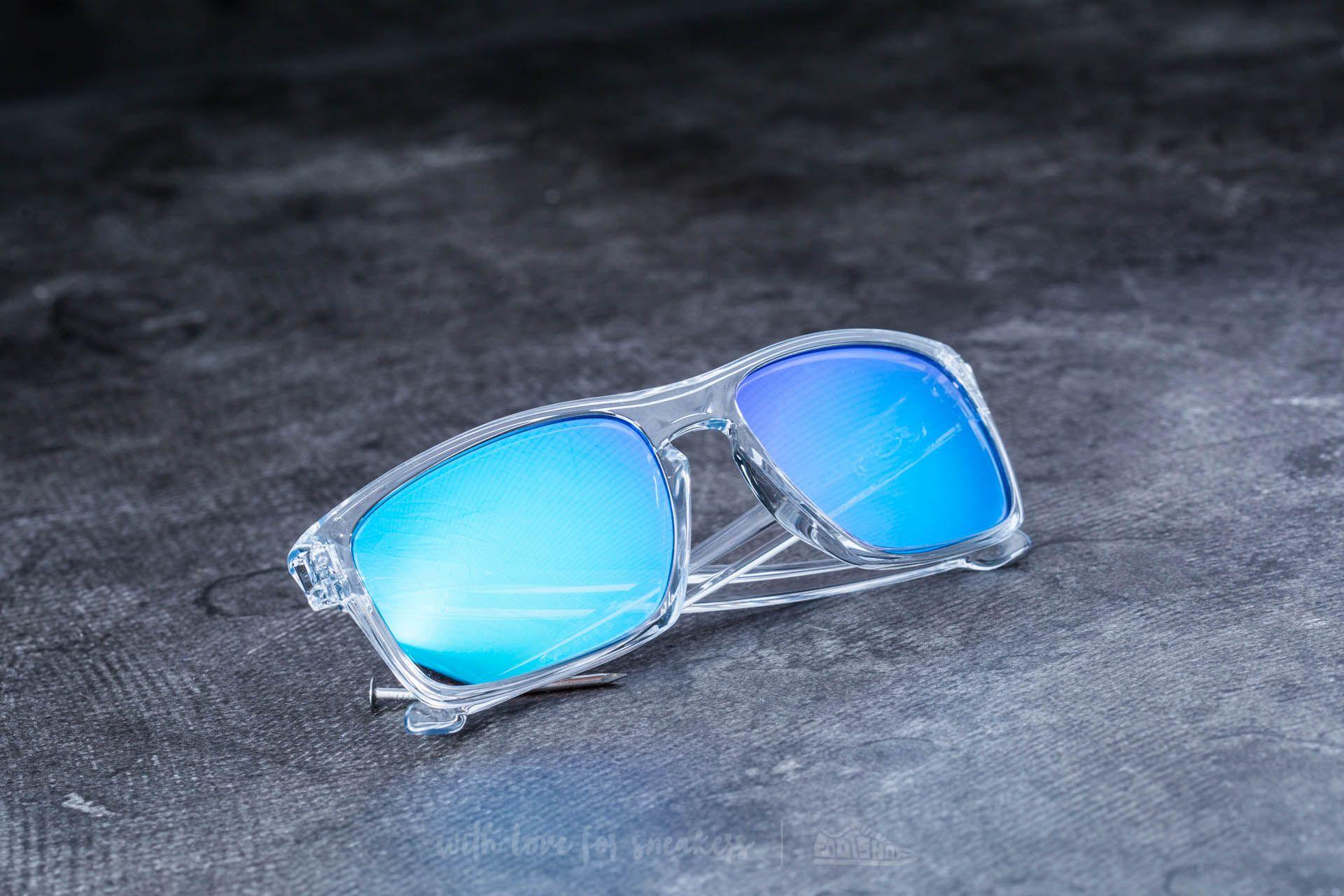 Oakley Sliver Polished Clear  Sapphire Iridium  f4c47f37e32