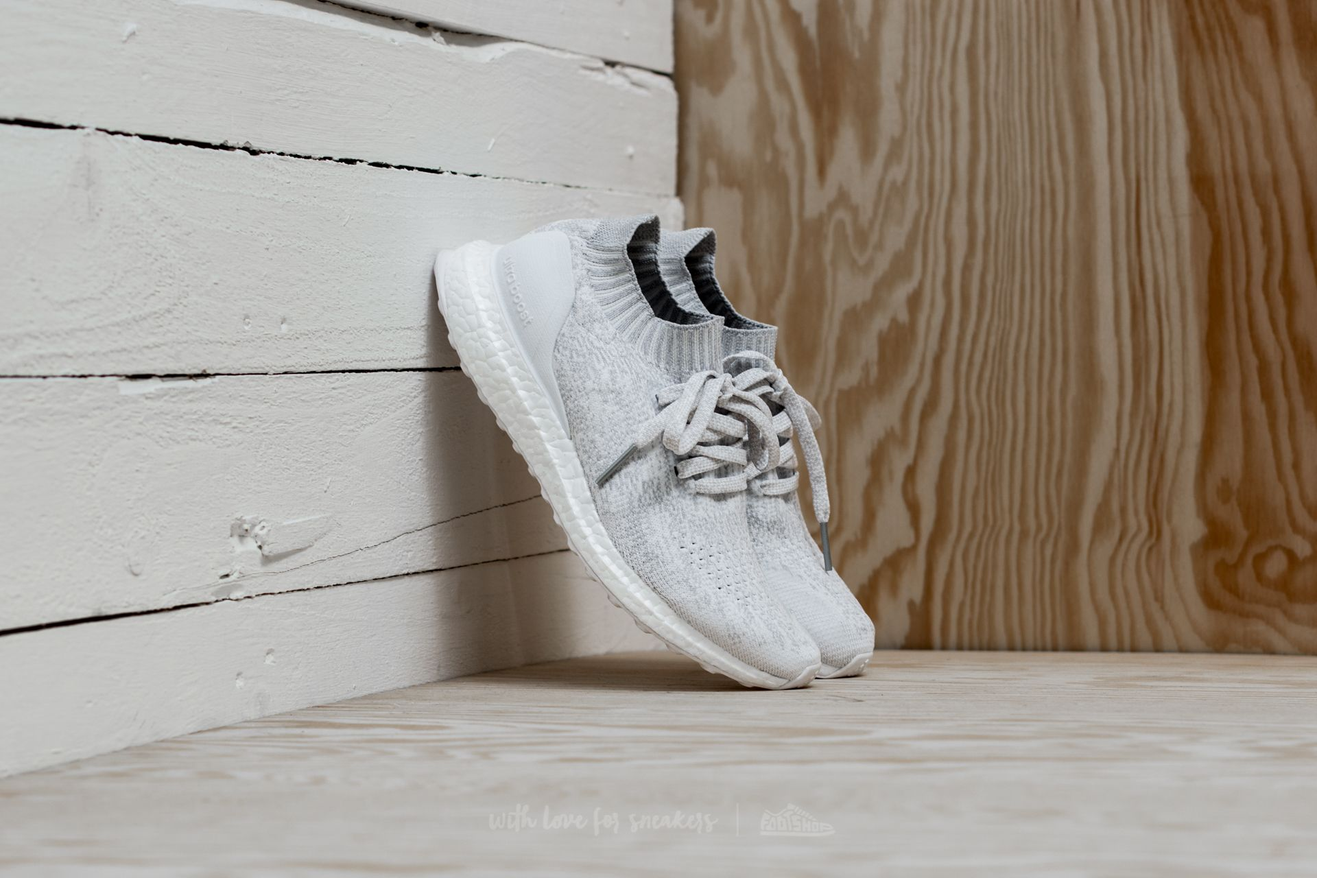 41a1acf64 adidas UltraBoost Uncaged J Ftw White  Ftw White  Crystal White ...