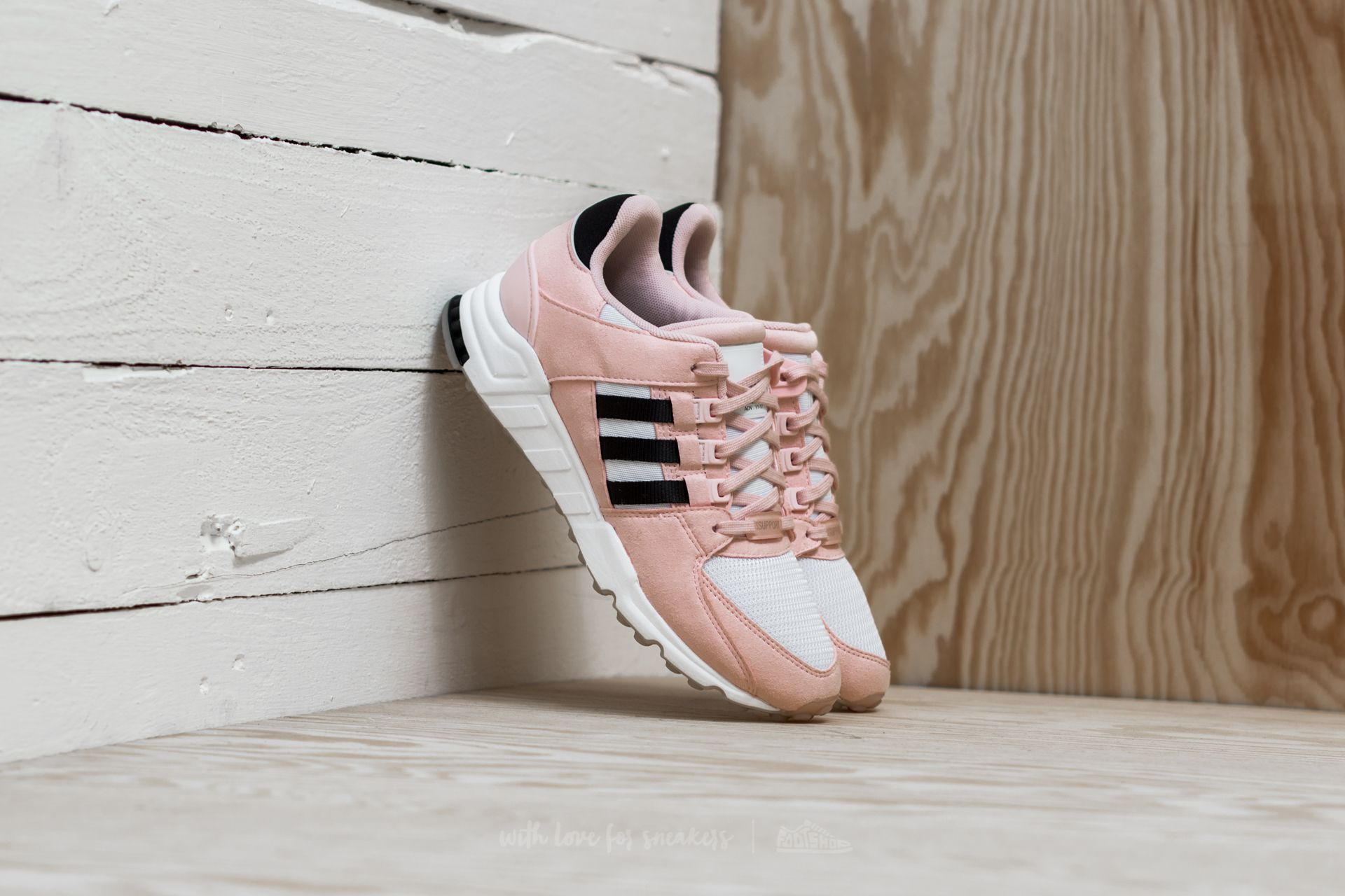 promo code 61b14 1bd25 adidas EQT Support RF W. Icey Pink Core Black Ftw White