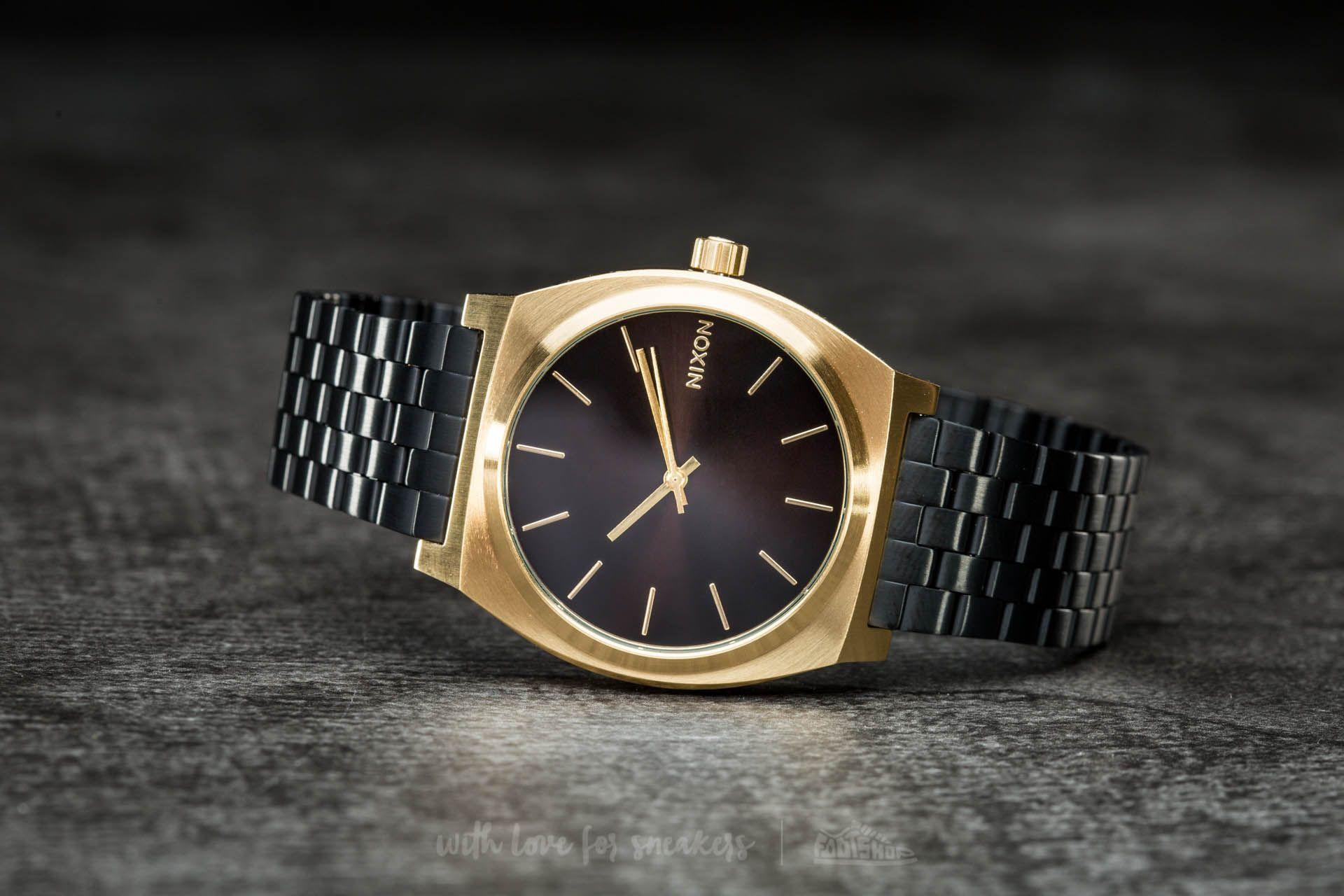 Nixon Time Teller Gold/ Black Sunray za skvělou cenu 1 630 Kč koupíte na Footshop.cz