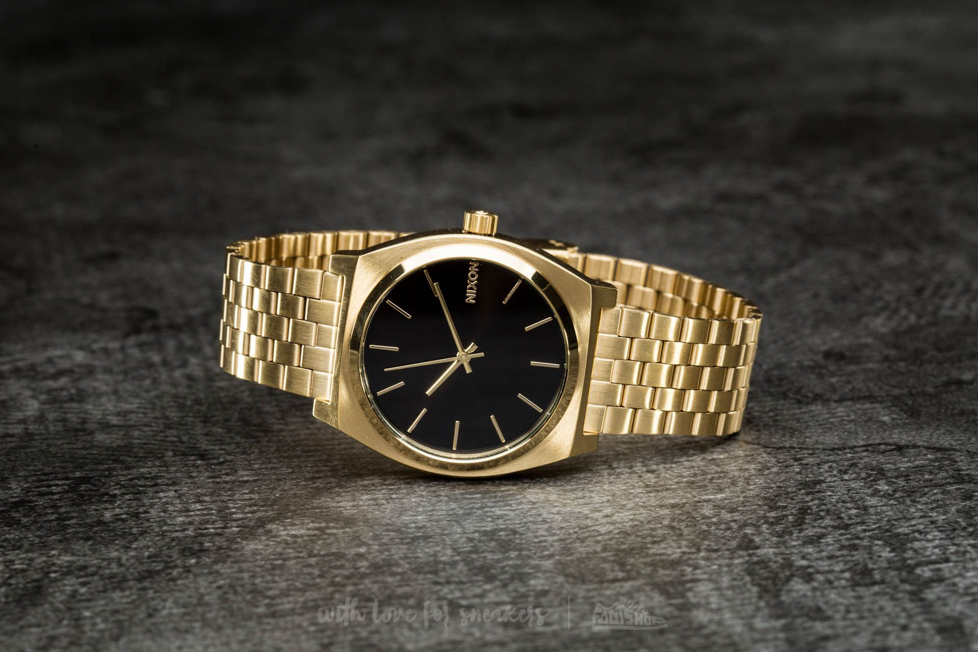 12487c938b4 Nixon Time Teller All Gold  Black Sunray at a great price £80 buy at