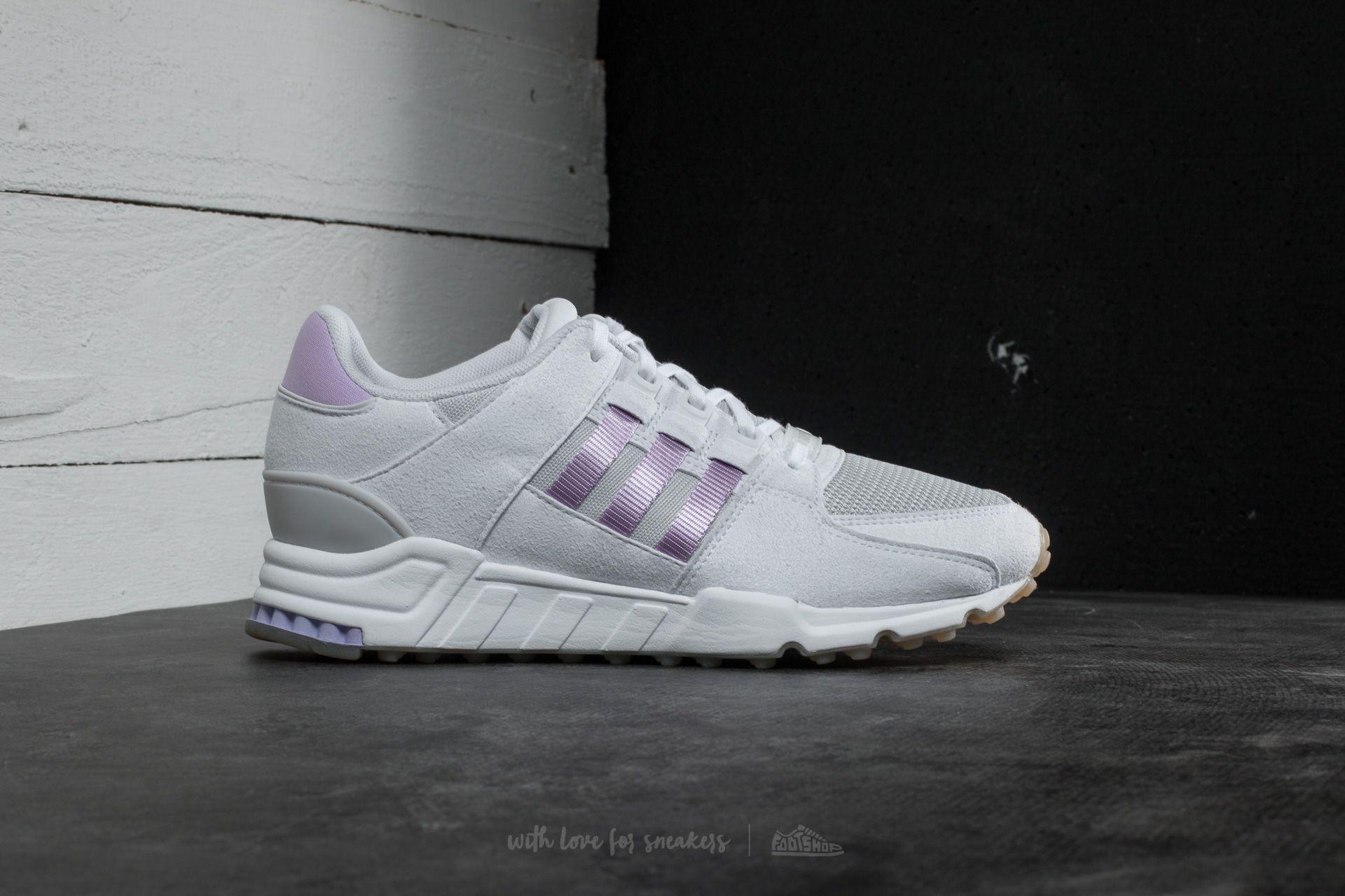 adidas EQT Support RF Ftw White Purple Glow Grey One