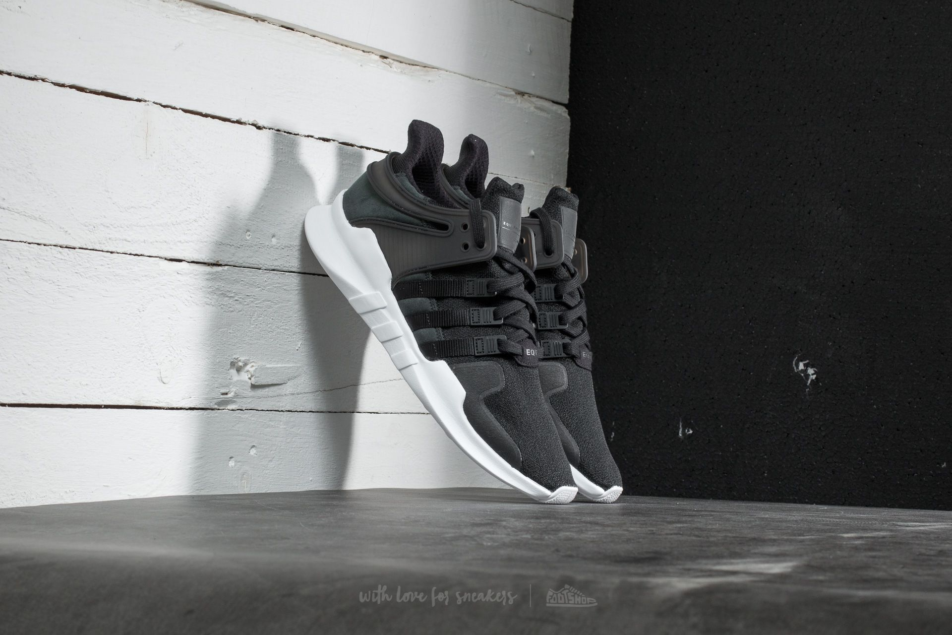 adidas EQT Support ADV Core Black  Ftw White  e7cef3b1d