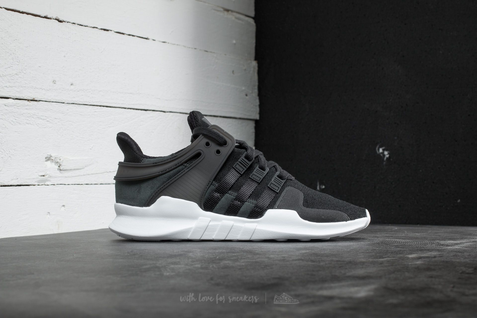 adidas EQT Support ADV Core Black Ftw White | Footshop