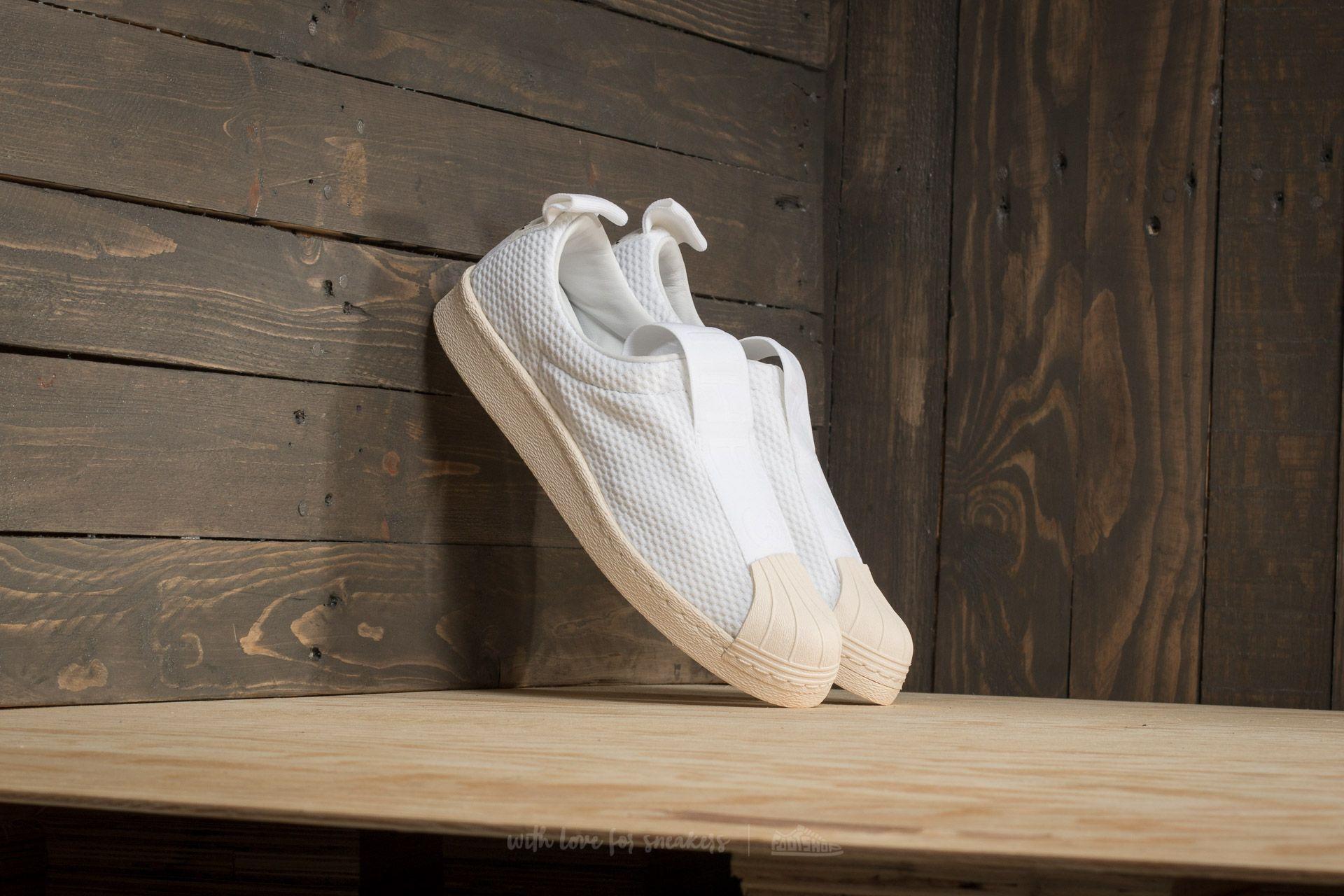 adidas Superstar BW Slip On W Footwear White/ Footwear White/ Off White | Footshop