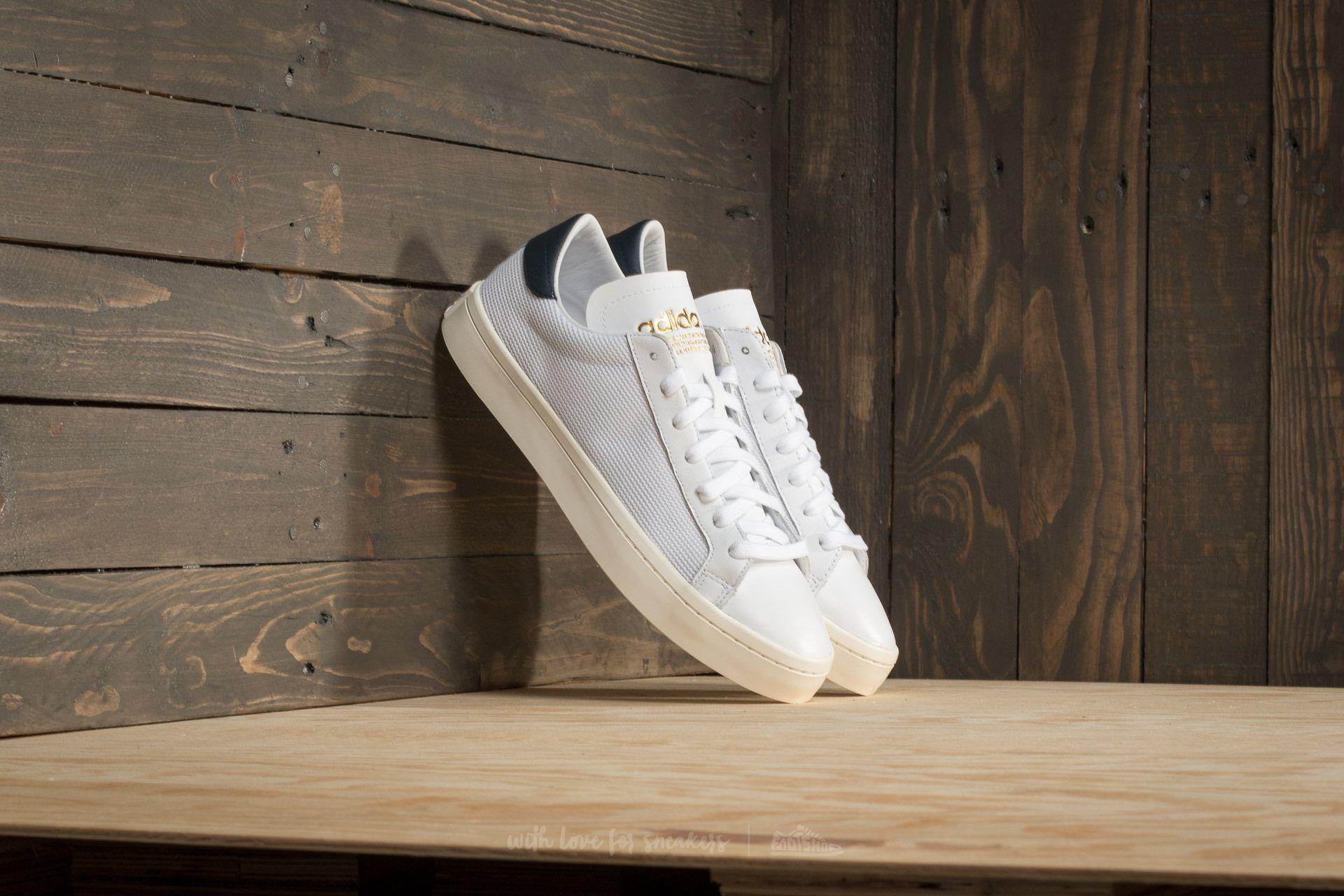 adidas court vantage navy