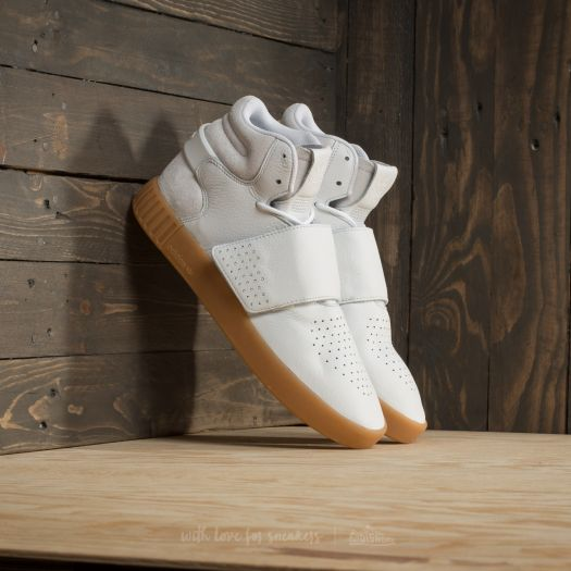 great deals 2017 lower price with most popular adidas Tubular Invader Strap Footwear White/ Gum/ Core ...