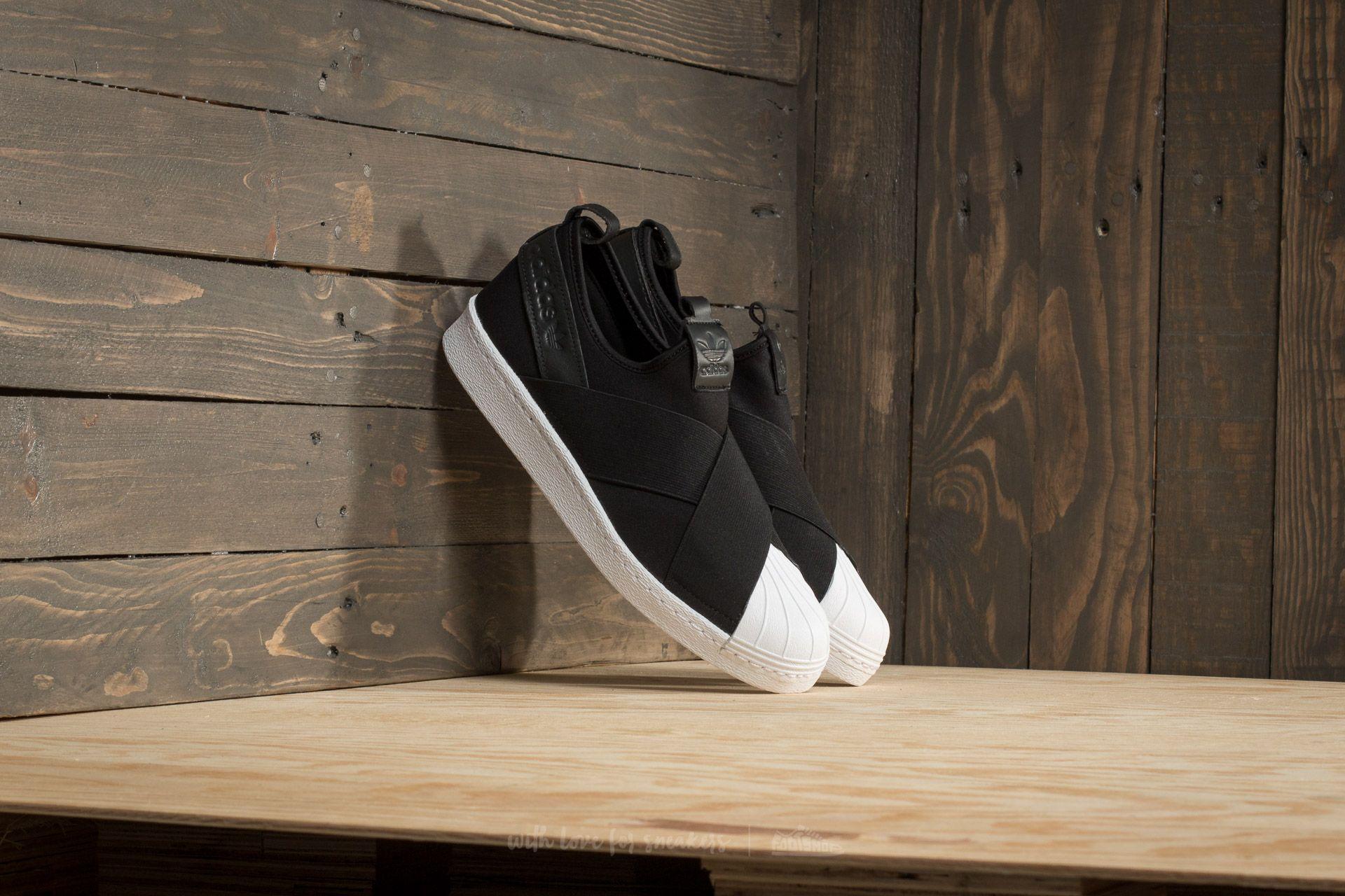 adidas Superstar Slip On Core Black za skvělou cenu 2 440 Kč koupíte na Footshop.cz