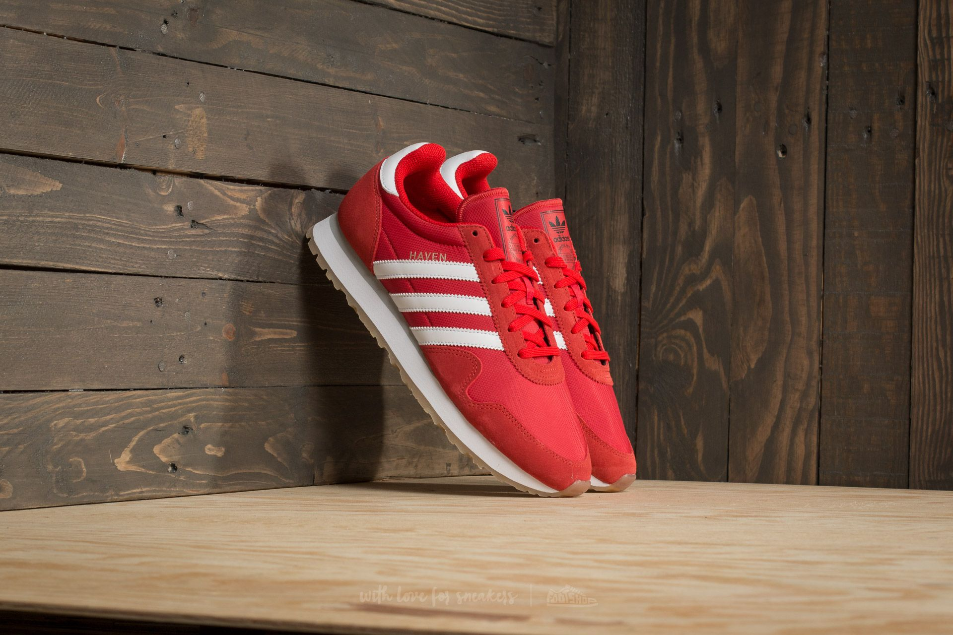 adidas Haven Red  Ftw White  Gum  b897adccc