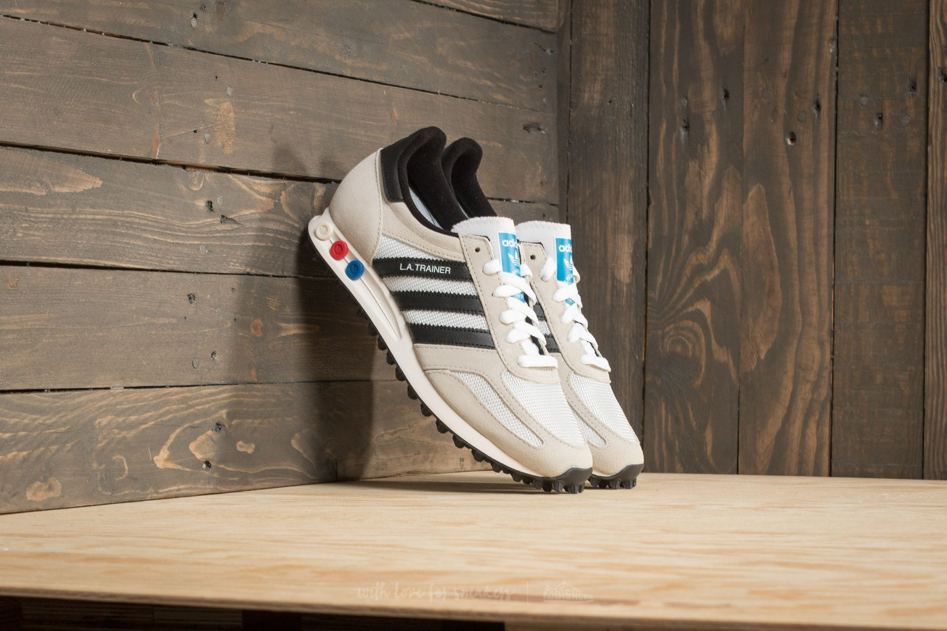 5bee45761a58 adidas LA Trainer OG Vintage White  Core Black  Clear Brown